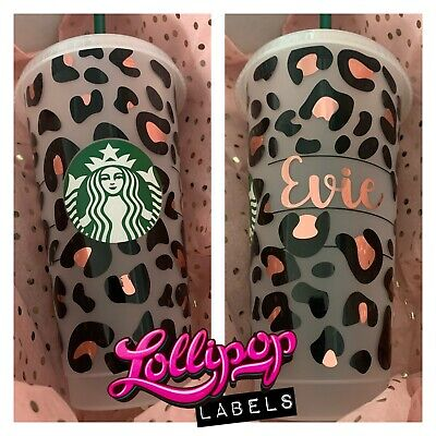 £14 • Buy Personalised Starbucks Tumbler With Straw / Personalised Gift / Reusable Cup