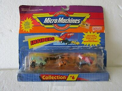 £26.14 • Buy VTG Micro Machines Insiders Collection # 6 Galoob #6400 Cars