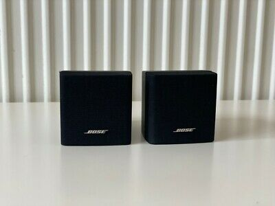 £65 • Buy 2 X Bose Cube Single Speakers - Lifestyle Acoustimass - Black - Excellent Cond