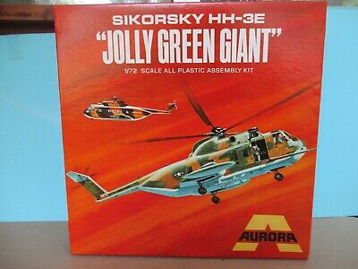 £27.50 • Buy Aurora 505 1/72 Kit For An Hh-3e Jolly Green Giant.  Complete With Parts Sealed