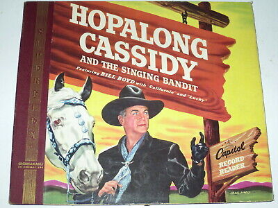 £6.51 • Buy Hopalong Cassidy And The Singing Bandit W/Bill Boyd  2-record Set  CAPITOL  1950