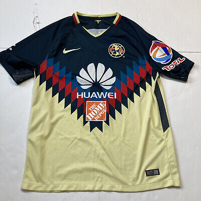 $24 • Buy Club America 2017-18 Home Jersey Size Large Soccer Nike
