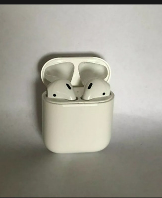 AU13.59 • Buy Apple AirPods 1st Generation In-Ear Headsets With Charging Case - White