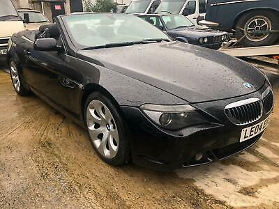 £4200 • Buy Bmw 645 Ci Convertible Automatic Petrol Black With Black Electric Leather PX