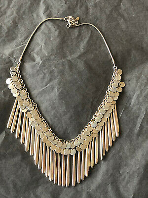 £10 • Buy Oasis Gold Statement Necklace
