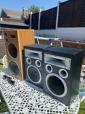 £0.99 • Buy Jamo And Subwoofer Speaker Boxes X 3