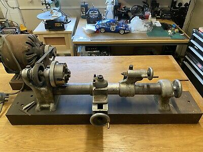 £56 • Buy Vintage Small Metal Working Lathe Makers Wade Lathe Company