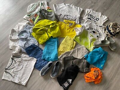£35 • Buy Set Of Lovely Matching Summer Boys Clothes & Shoes Gap Zara RL Next  In Size 4-5