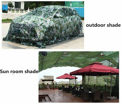 £6.89 • Buy Camo Net Cover Camouflage Netting Hide Hunting Shooting Woodland Camping Army UK