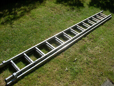 £60 • Buy Used Youngman DIY 100 2 Section 3.5m-6.25m Ladder (11ft 5  - 20ft 5 ) Extending