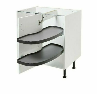 £69.99 • Buy B&q Right Handed Kitchen Pull Out Corner Unit - Pebre - Fits 800mm Base Unit