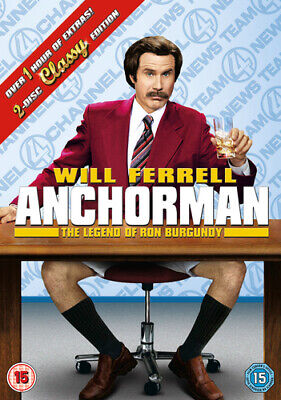 £1.58 • Buy Anchorman - The Legend Of Ron Burgundy (DVD- 2013)