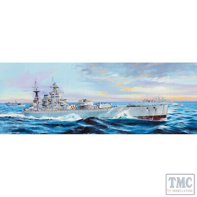 £280 • Buy PKTM03708 Trumpeter 1:200 Scale HMS Nelson 1944