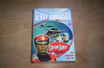 £15 • Buy Captain Scarlet And The Mysterons (Supermarionation Collection) - DVD  Box Set