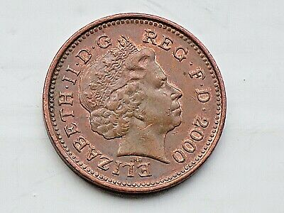 £0.99 • Buy RARE 2000  One Penny COIN With Lustre