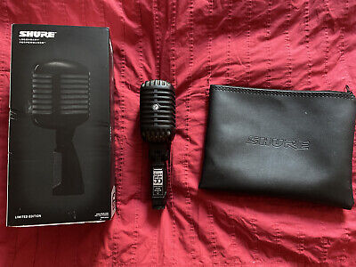 £1405.52 • Buy Shure Super 55-BLK LIMITED EDITION
