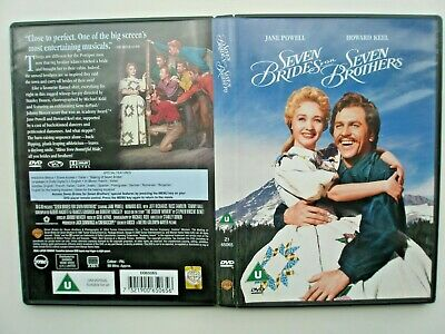 £2.70 • Buy Seven Brides For Seven Brothers Dvd