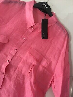 £8.50 • Buy Marks And Spencer Women AUTOGRAPH Peony Top / Shirt Size 18
