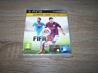 £8.54 • Buy Fifa 15 Ultimate Team Edition Nuovo New Sony Playstation 3 Ps3 Pal Ita
