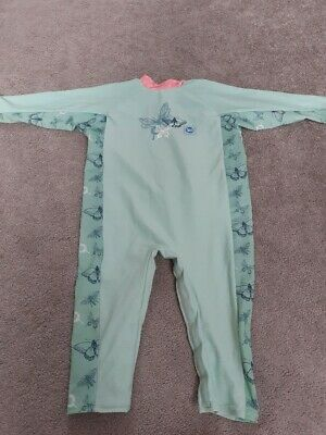 £1.50 • Buy Splash About Dragonfly UV All In One Suit, SPF 50 - Age 1-2 Years