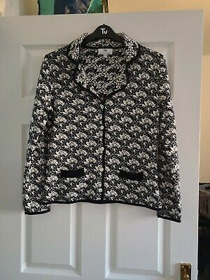 £3.05 • Buy Peter Hahn Floral Button  Cardigan Size 12