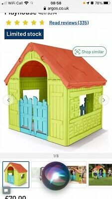 £45 • Buy Chad Valley Childrens Play House, Wendy House, Collection Bb3