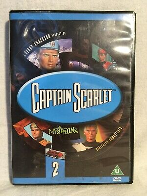 £6.97 • Buy Captain Scarlet The Mysterons Digitally Remastered DVD - Fast UK Dispatch