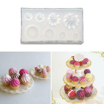 $3.61 • Buy DIY 3D Glass Bottle Resin Mold Goblet Cup Simulated Food Mini Cake Silicone Mold