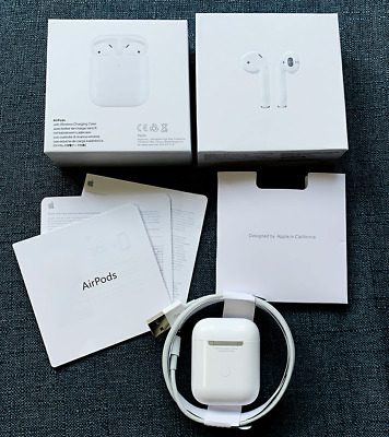 AU50 • Buy Apple Airpods 2nd Generation With Wireless Charging Case White NEW - Sealed Pack