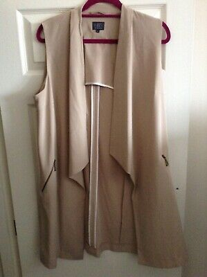 £20 • Buy Womens Marks And Spencer Neutral Colour Trouser Suit Size 14 / EU 42