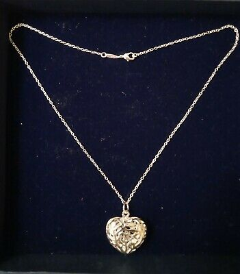 £5 • Buy Silver Heart Pendant With Chain 925