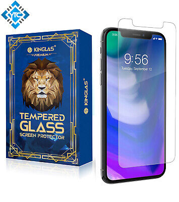 AU12 • Buy 2x Kinglas Tempered Glass Screen Protector 9H For IPhone X/XS/11 Pro - Clear