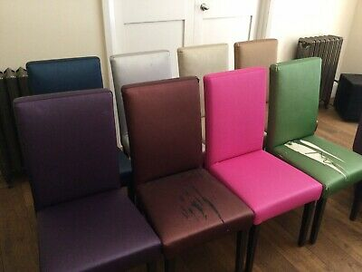 £300 • Buy Set Of 8 Designers Guild Multi Coloured Dining Chairs