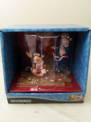 £14.99 • Buy Creature Comforts Monkeys Muzulu & Toto, Collectable Toys By Aardman Animations
