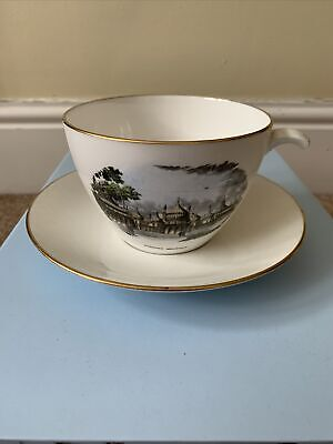 £4.50 • Buy Crown Staffordshire Queensberry Large Cup And Saucer - The Pavillion Brighton