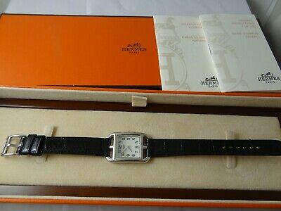 £999.99 • Buy Hermes Cape Cod Cc1.210 Mother Of Pearl Face Watch