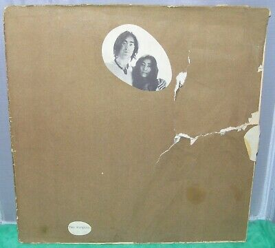 £8.63 • Buy LENNON & ONO ~ TWO VIRGINS UNFINISHED MUSIC NO.1 ~ 188 Gram ~ T-5001 VG