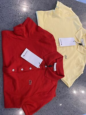 £60 • Buy Womens Lacoste Polo Shirts X2 Size 38