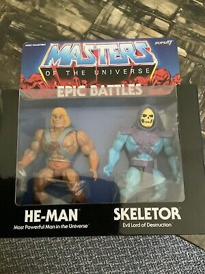 $39.75 • Buy Masters Of The Universe Epic Battles 2 Pack He-man And Skeletor