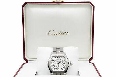 $3649 • Buy Cartier Roadster 40mm Stainless Steel Automatic Men's Watch W/ Box And Papers