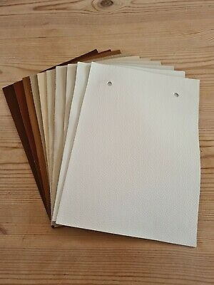 £0.99 • Buy 10 Leather Samples 6  X 8.5  Various Colours (2) - Great For Patchwork/Crafts