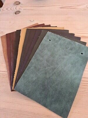 £0.99 • Buy 10 Leather Samples 6  X 8.5  Various Colours (4) - Great For Patchwork/Crafts
