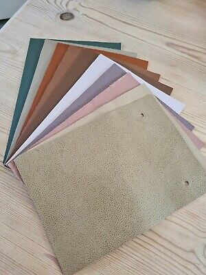 £0.99 • Buy 10 Leather Samples 6  X 8.5  Various Colours (5) - Great For Patchwork/Crafts
