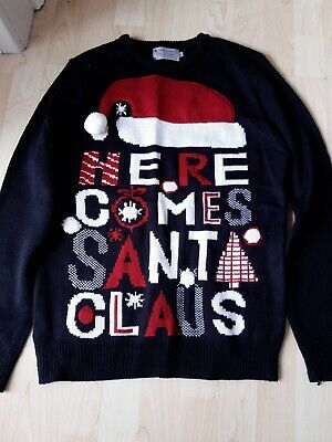 $1.53 • Buy Mens F&F Christmas Jumper Size S