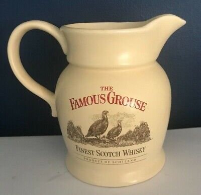 £4.50 • Buy Vintage The   Famous Grouse Finest Scotch Whisky   Water  Pub Jug  Made By Wade