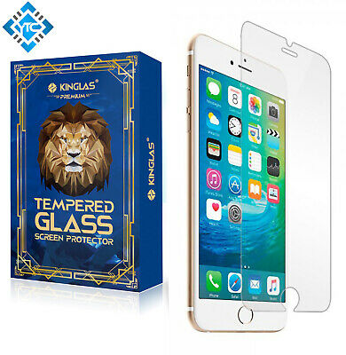 AU11 • Buy 2x Kinglas Tempered Glass Screen Protector 9H For IPhone 6/6S/7/8/SE2020 - Clear