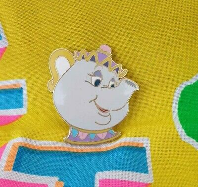 £1.30 • Buy Disney Mrs. Potts Collectible Pin Badge Teapot Beauty And The Beast