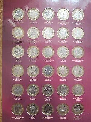 £500 • Buy  2 Pound Coin Job Lot 56 Coins