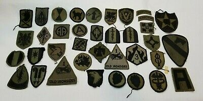 $5.50 • Buy Lot Of 35 U.S. Military Subdued Patches