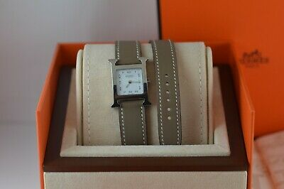 £999.99 • Buy HERMES Heure H HH1.210 DOUBLETOUR WATCH